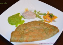 Pesarattu - Green Moong Dosa