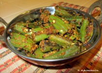 Bharali Bhendi / Bhindi Masala