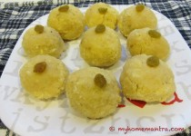 Rava Coconut Laddoo