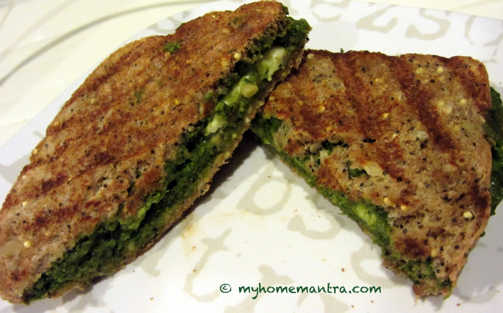Grilled_cheese with pesto
