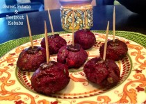 Sweet Potato & Beetroot Kebabs